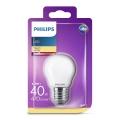 Lampadina LED Philips P45 E27/4,3W/230V 3000K