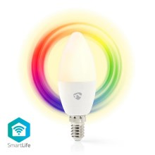 Lampadina LED RGB dimmerabile intelligente E14/4,5W/230V