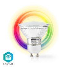 Lampadina LED RGB dimmerabile intelligente GU10/5W/230V