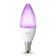 Lampadina LED RGB dimmerabile Philips HUE WHITE AND COLOR AMBIANCE E14/6W/230V 2200-6500K