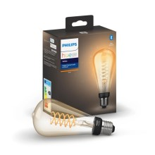 Lampadina Philips HUE a LED dimmerabile WHITE FILAMENT ST72 E27/7W/230V 2100K