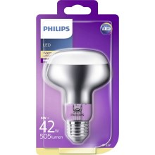 Lampadina riflettore a LED Philips R80 E27/5W/230V