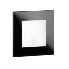 LDST AN-01-CB-BC9 - Illuminazione LED per scale ANGEL 9xLED/1,2W/230V nero lucido 3500K