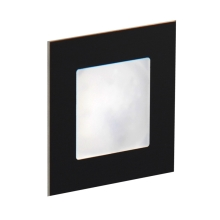 LDST AN-01-SC-BC9 - Illuminazione LED per scale ANGEL 9xLED/1,2W/230V nero opaco 3500K
