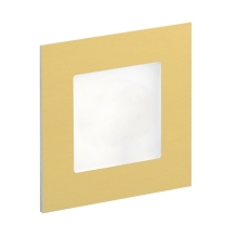 LDST AN-01-SZ-BC9 - Illuminazione LED per scale ANGEL 9xLED/1,2W/230V oro 3500K