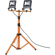 Ledvance - Riflettore LED con supporto TRIPOD 2xLED/30W/230V IP65