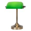 Lucide 17504/01/03 - Lampada da tavolo BANKER 1xE14/ESL 11W/230V