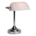 Lucide 17504/01/11 - Lampada da tavolo BANKER 1xE14/ESL 11W/230V