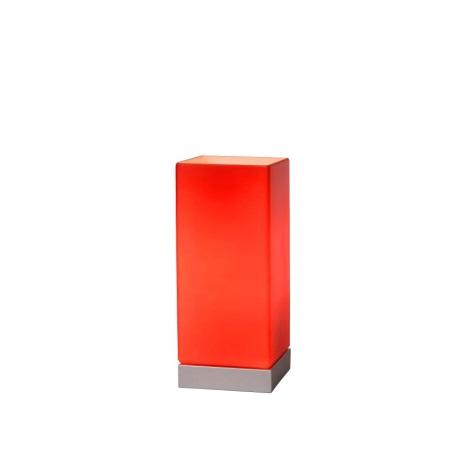 71529 Colour 230v 1xe14 Lucide 32Lampada Rosso 01 Da touch Tavolo 40w CdxrBeoW