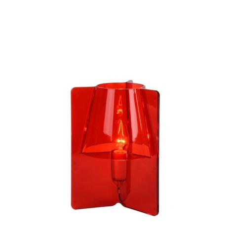 Rosso Tripli 11w Lucide Da 71550 32Lampada Tavolo 230v 01 1xe14 8OvmNn0w