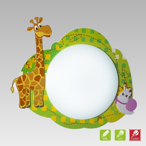 Bambini Per Luxera 28025Plafoniera 3xe14 9w Giraff 230v rQCthdxosB