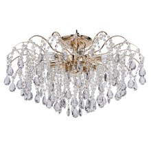 MW-LIGHT - Plafoniera di cristallo CRYSTAL 9xE14/60W/230V
