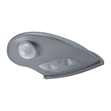 Osram - Applique a LED da esterno con sensore DOORLED LED/0,95/3xAA IP54