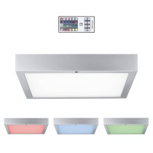 Paulmann 70438 - LED RGB/15,5W Lampada da soffitto dimmerabile SPACE 230V