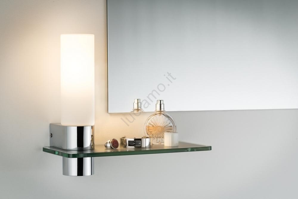 Led Per Specchio Bagno.Paulmann 70608 Led 4 5w Illuminazione Per Specchi Da Bagno