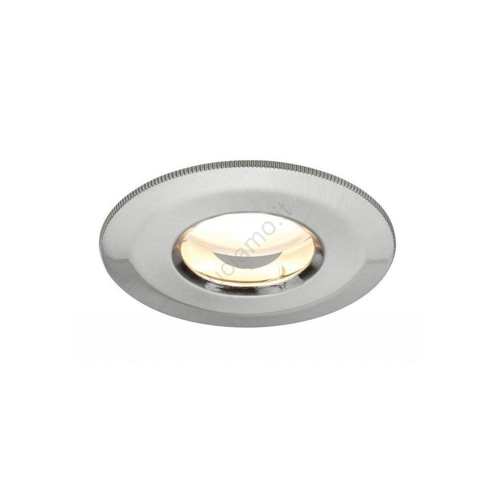 Lampade Ad Incasso A Led.Paulmann 92848 Led 7w Ip65 Lampada Da Incasso Per Bagni Coin 230v