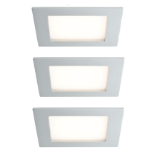 Paulmann 93758 - SET 3x Illuminazione per scale LED AREAL 3xLED/2W/230V