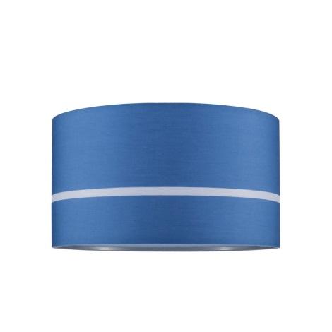 Paulmann 95364 - Lampadario a sospensione con filo TESSA 1xE27/60W/230V blu
