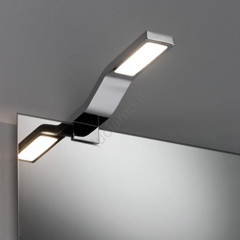 Immagini Specchi Da Bagno.Paulmann 99100 Led 3 2w Ip44 Illuminazione Per Specchi Da Bagno Galeria 230v