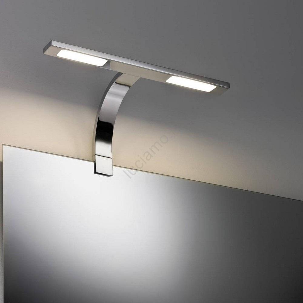 Immagini Specchi Da Bagno.Paulmann 99381 2xled 3 2w Ip44 Illuminazione Per Specchi Da Bagno Galeria 230v