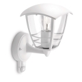 Philips 15388/31/16 - Applique da esterno con sensore MYGARDEN CREEK 1xE27/60W