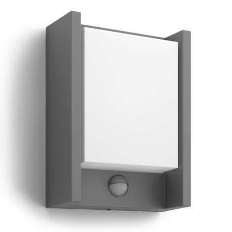 Arbour Sensore Da Esterno 1xled 6w Led 16461 p3Lampada Con Mygarden Philips 93 qSzVpGUM