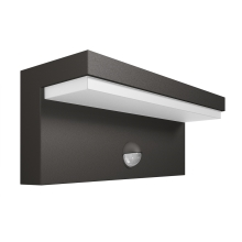 Philips 16484/93/P3 - Applique a LED da esterno sensore BUSTAN 2xLED/4,5W