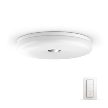 Philips 33064/31/P7 - Lampada da soffitto LED dimmerabile per bagno HUE STRUANA LED/32W