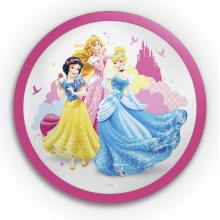 Philips 71760/28/16 - Applique a LED per bambini DISNEY PRINCIPESSA 1xLED/4W/230V