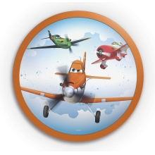 Philips 71760/53/16 - Applique a LED per bambini DISNEY PLANES 1xLED/4W/230V