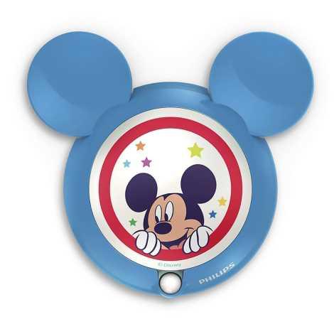 1xled 30 Mickey Con 2xaaa 71766 Led 06w 0 Sensore Bambini 16Lampada Per Philips PiOkXuZ