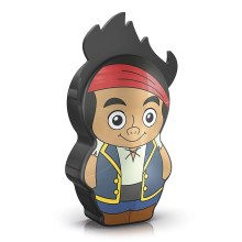 Philips 71767/05/16 - Lampada a LED per bambini DISNEY JAKE PIRATE 1xLED/0,3W/2xAAA