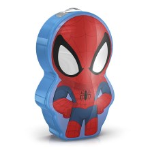 Philips 71767/40/16 - Torcia LED per bambini MARVEL SPIDER-MAN 1xLED/0,3W/2xAAA