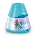 Philips 71769/08/16 - Proiettore LED per bambini DISNEY FROZEN 1xLED/0,1W/3xAA