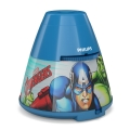 Philips 71769/35/P0 - Proiettore LED per bambini MARVEL AVENGERS 1xLED/0,1W/3xAA