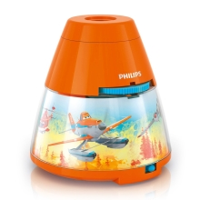 Philips 71769/53/16 - Proiettore LED per bambini DISNEY PLANES 1xLED/0,1W/3xAA