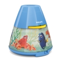 Philips 71769/90/16 - Proiettore per bambini DISNEY FINDING DORY LED/0,1W/3xAAA