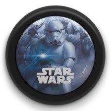 Philips 71924/30/P0 - Lampada touch per bambini DISNEY STAR WARS STORMTROOPER LED/0,3W/2xAAA