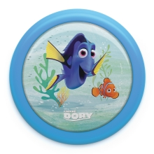 Philips 71924/35/P0 - Lampada Touch a LED per bambini DISNEY FINDING DORY LED/0,3W/2xAAA