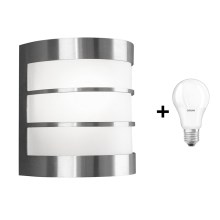 Philips Massive 17025/47/10 - Applique a LED da esterno CALGARY 1xE27/6W/230V IP44