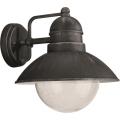 Philips Massive 17237/54/10 - Lampada da esterno DAMASCUS 1xE27/60W grigio metallico IP44