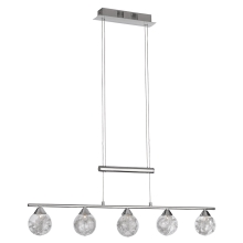 Philips Massive 38171/11/10 - Lampadario dimmerabile a sospensione con filo HAHN 5xG4/20W/230V
