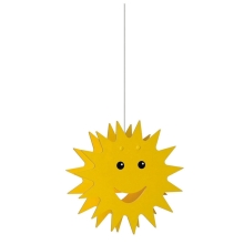 Philips Massive 75500/01/34 - Lampadario per bambini SMILEY 1xE27/60W/230V