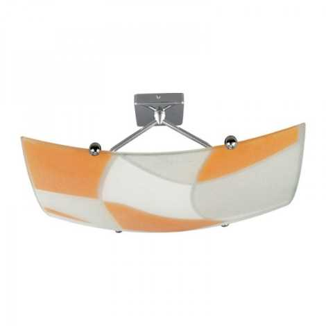 2xe27 Plafoniera arancione 100w Bianco Aspis 230v hQtrCxds