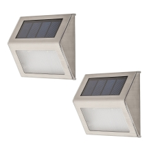 Rabalux - KIT 2x Applique a LED da esterno SANTIAGO 2xLED/0,12W