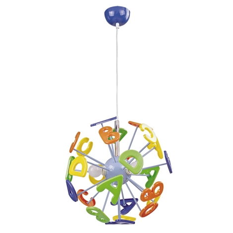 Rabalux - Lampadario per bambini 3xE14/40W/230V