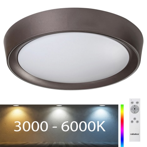 Rabalux - Plafoniera LED RGB dimmerabile LED/24W/230V + TC 3000-6000K