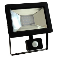 Riflettore LED con sensore NOCTIS 2 SMD LED/10W/230V IP44 650lm nero