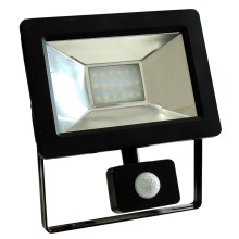 Riflettore LED con sensore NOCTIS 2 SMD LED/20W/230V IP44 1350lm nero