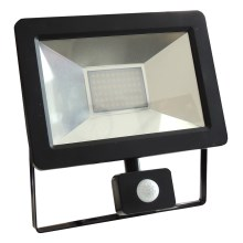 Riflettore LED con sensore NOCTIS 2 SMD LED/30W/230V IP44 1950lm nero